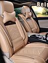 cuir 8 PCS toutes saisons siège de voiture Seat Covers générale de protection adaptation universelle accessoires de voiture