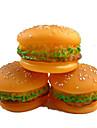 Chiens / Chats Jouets Jouets pour Animaux Interactif / Jouets sonores Hamburger Caoutchouc