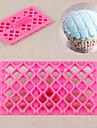 fjäril båge bowknot täcke fondant fyrkantig fräs gitter kaka cupcake präglingsverktyg skrivare