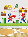 stickers muraux stickers muraux de style, super mario muraux PVC autocollants