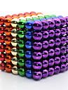 Magnetleksaker för Gift Byggklossar Modell- och byggleksak Metal över 6 Regnbåge Leksaker