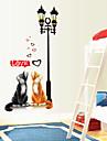 stickers muraux autocollants de mur, chats muraux PVC autocollants