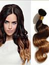 3pcs / lot bresilien de vague de corps de cheveux vierges trois trois tons extensions de cheveux ombre non transformes vague de corps
