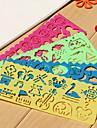 Barnens Easy Drawing Ruler (slumpmässiga färger)