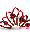 Celada Tiaras Boda / Ocasion especial Rhinestone / Aleacion Mujer Boda / Ocasion especial 1 Pieza
