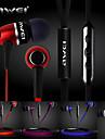 autentic awei s80vi căști de 3,5 mm, în canalul urechii super-bas cu microfon la distanță pentru iphone6 6 plus s6 (culoare asortată)