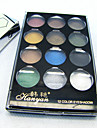12 Normal Eyeshadow Matte/Shimmer Powder