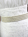 Faixa Renda Faixas para Mulheres Casamento/Festa/Noite Pedraria
