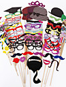 Wedding Décor 76 PCS Card Paper Photo Booth Props Party Fun Favor