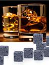 9 st / lot whisky stenar vagga isbitar täljsten dryck frys
