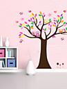 vacker color träd för heminredning väggdekal zooyoo5084 dekorativa flyttbar pvc vägg klistermärke