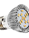 7W E26/E27 LED-spotlights 12 SMD 5730 700 lm Varmvit / Naturlig vit Dekorativ AC 220-240 / AC 110-130 V 1 st