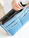 Sminkförvaring Kosmetisk påse / Sminkförvaring Nylon Enfärgat 28*17*9.5 cm 11.02*6.69*3.74 inchGrey Gradient / Brun / Grå / Röd / Orange