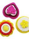 gateau de creation gomme en caoutchouc amovible (couleur aleatoire)