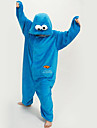 kigurumi Pyjamas New Cosplay® / Dessin-Anime Collant/Combinaison Fete / Celebration Pyjamas Animale Halloween Bleu Mosaique Polaire