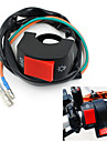 "Black Motorcycle Fog Light Switch 7/8"" Handlebar 12v DC Electrical System"