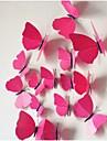 les stickers muraux en trois dimensions simulation papillon (12pcs)