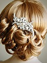 diamond bridal hair comb art crystal rhinestone wedding hair comb hollywood glamour wedding hair accessories vintage
