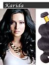 Human Hår vävar Brasilianskt hår Vågigt hår väver