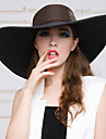 여성 바구니 세공품 투구-캐쥬얼 / 야외 모자 1개 Head circumference 57cm
