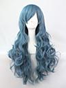 2015 hett försäljning lång cosplay peruker anime syntetisk peruker cosplay parti hår peruker långa 70cm