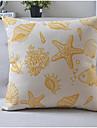 modern stil sjöliv bomull / linne dekorativa kuddöverdrag