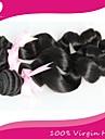 """3st / lot brasilianska jungfru hår 100% brasilianska remy hår löst våg 8 """"-30"""" mänskliga hårförlängningar naturliga färg"""