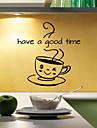 väggdekorationer väggdekaler stil Ha en bra tid engelska ord&citerar pvc väggdekorationer