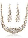 Women\'s Imitation Pearl / Alloy / Rhinestone Jewelry Set Imitation Pearl / Rhinestone