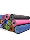 Tapis de Yoga 183*61* 0.06 Ne Derape Pas Gluant Ecologique Non Toxique etanche Sechage rapide Sans odeur 4.0 6 8.0 mmRose Bleu Vert