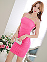 Pink Doll®Women\'s Strap Sexy/Bodycon/Party Sleeveless Dress