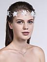 Dame Stoff Headpiece-Bryllup / Spesiell Leilighet / Avslappet Blomster 1 Deler