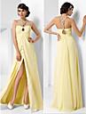 Formal Evening / Prom / Military Ball Dress - Daffodil Plus Sizes / Petite A-line / Princess Sweetheart Floor-length Chiffon