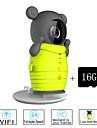 besteye® 16 GB TF kort och söt trådlös wifi kamera med ir mörkerseende ip övervakning trådlös kamera
