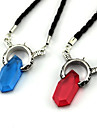 Smycken Inspirerad av Devil May Cry Cosplay Animé/ Videospel Cosplay Accessoarer Halsband Röd / Blå Legering / KonstädelstenarMan /