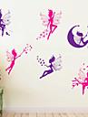 Animaux Bande dessinee Floral Stickers muraux Stickers avion Stickers muraux decoratifs Materiel Lavable Amovible Decoration d\'interieur