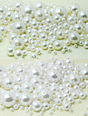 beadia 58 g (aprox 2000pcs) abs margele perla 4mm rotund alb& fildeș din plastic de culoare margele pierde accesorii bijuterii DIY