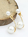 XIXI Women\'s The Newest Fashion Casual Gold Plated/Rhinestone/Imitation Pearl Stud Earrings