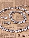 Conjunto de joias Vermeil Mulheres