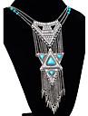 Dame Coliere Aliaj La modă Declaratie de bijuterii Argintiu Culoare ecran Bijuterii Ocazie specială Zi de Naștere