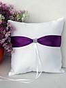 Ring Pillow Satin Vegas Theme / Asian Theme / Fairytale Theme / Floral ThemeWithRibbons / Bow / Rhinestones