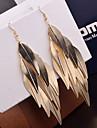 Pentru femei Cercei Picătură Bijuterii Statement Personalizat Vintage costum de bijuterii Aliaj Leaf Shape Bijuterii Pentru Nuntă