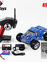 Buggy WLToys A979 1:18 Borstlös elektrisk RC Bil 45KM/H 2.4G Blå Färdig att köraFjärrkontroll bil / Fjärrkontroll/Sändare /