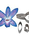quatre c coupe dendrobium orchidee petale de fleur, des outils de decoration de gateau fondant outils de coupe accessoires moule a