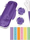 kaka Utsmyckning verktyg detalj hjul skrivare inställd för fondant tuggummi pasta med sex olika utföranden