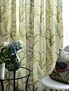 două panouri de design floral perdele panou de imprimare draperii