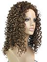 Les styles europeens et americains dame petite perruque de cheveux boucles dans 12 # couleur