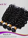 """4 kpl erän 12 """"-30"""" brasilialainen syvä curl neitsyt hiukset kuteet pikimusta Remy hiuksista kutoa sotkeutumaton"""