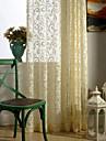 En panel Fönster Behandling Europeisk Designer Rustik Modern Nyklassisistisk Sovrum Polyester Material Skira Gardiner Shades