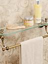 Antik - Glashylla - Väggmonterad